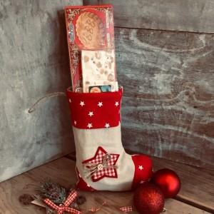 Adventssocke-Weihnachtssocke gefuellt