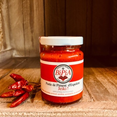 Bipia-Puree mit Piment dEspelette AOP