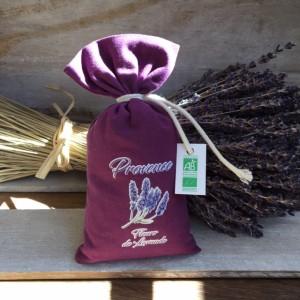 Bouquets Ventoux-Bio-Lavendelsäckchen-dunkelLila-maison-de-florence