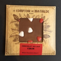 Comptoir de Mathilde_Vollmilchschokolade_Herzen