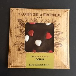 Comptoir de Mathilde_Zartbitterschokolade_Herzen