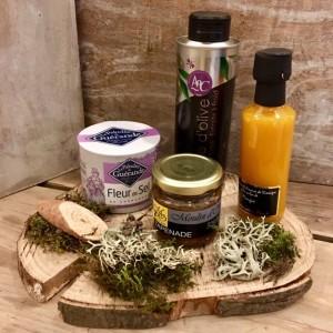 Geschenk-Set auf Baumschreibe-Cuisine