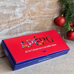 Iloise-Geschenkbox Apéro-Brotaufstriche mit Fischspezialitäten-Weihnachten2