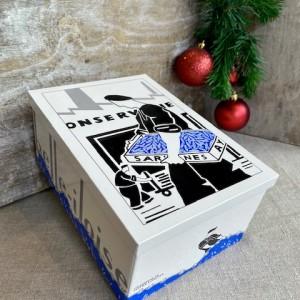 Iloise-Geschenkbox Meeresgeschichten aus Sardinen-Weihnachten.2