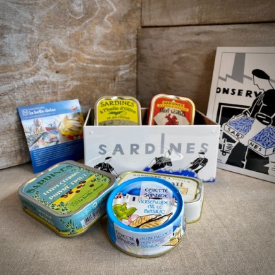 Iloise-Geschenkbox Meeresgeschichten aus Sardinen.1