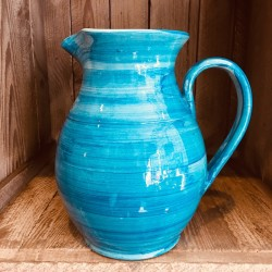 La petite Provence-Karaffe-blau-creme-H20,5cm