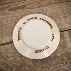 La petite Provence-Knoblauchreibe-Rueckseite mit Aufschrift-10,5cm