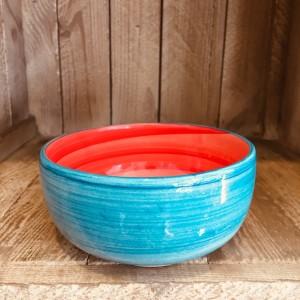 La petite Provence-Schale-tief-rot-blau-13cm