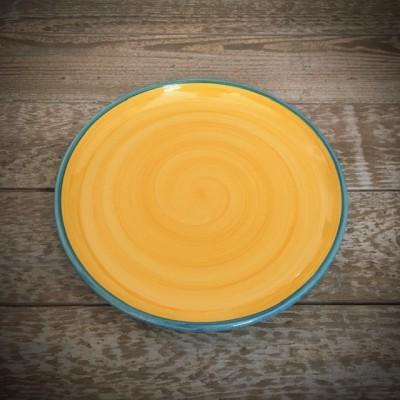 La petite Provence-Teller-gelb-blau-23,5cm