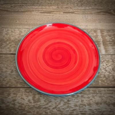 La petite Provence-Teller-rot-blau-23,5cm