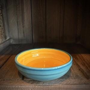 La petite Provence-flache Schale-gelb-blau-13cm