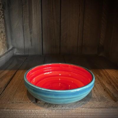 La petite Provence-flache Schale-rot-blau-13cm