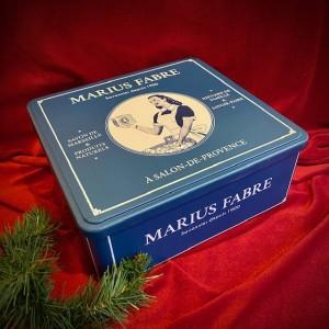 M. Fabre-Seifenbox aus Metall mit Olivenölseifen - ohne Palmöl.Weihnachten2020.3