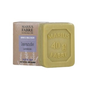 MF-BE40gr-Seife Lavendel + Mini-Schachtel