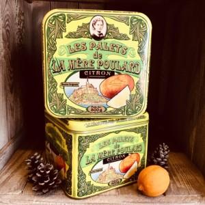 Mere poulard-Metalldose mit Butterkeksen mit Zitrone-500g