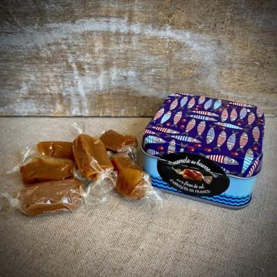 Mini-Metallbox mit gesalzenen Karamellbonbons, Motif Sardinen, La Trinitaine, 45g.jpg