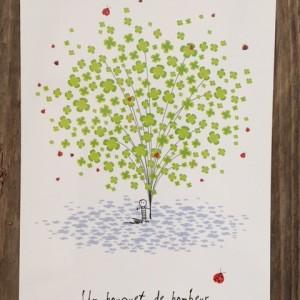 Postkarte-Ein Strauss voller Glueck