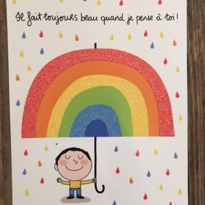 Postkarte-Es ist immer schoen wenn ich an Dich denke