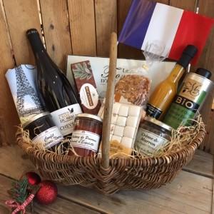 Präsentkorb Frankreich Weihnachten-Le grand gourmet