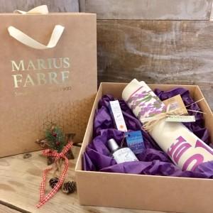 """Schiebe-Geschenkbox Weihnachten """"Une nuit en Provence"""", Lavendel-Liebhaberinnen"""
