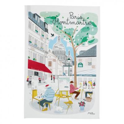 Winkler-Geschirrtuch-Paris Montmartre