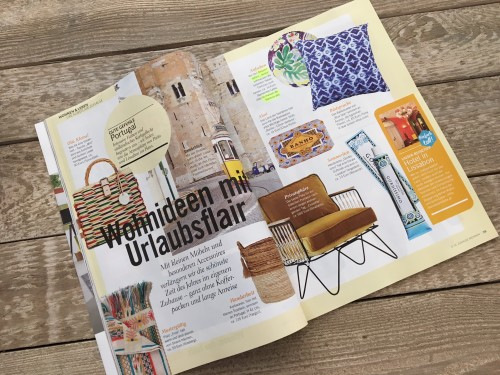 la maison de florence in der zuhause wohnen zeitschrift 06 2018 pressestimmen la maison de. Black Bedroom Furniture Sets. Home Design Ideas